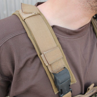 A Small But Tough Chest Rig fekete ITW csattokkal