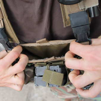 Small But Tough Chest Rig kisméretű elülső admin zseb