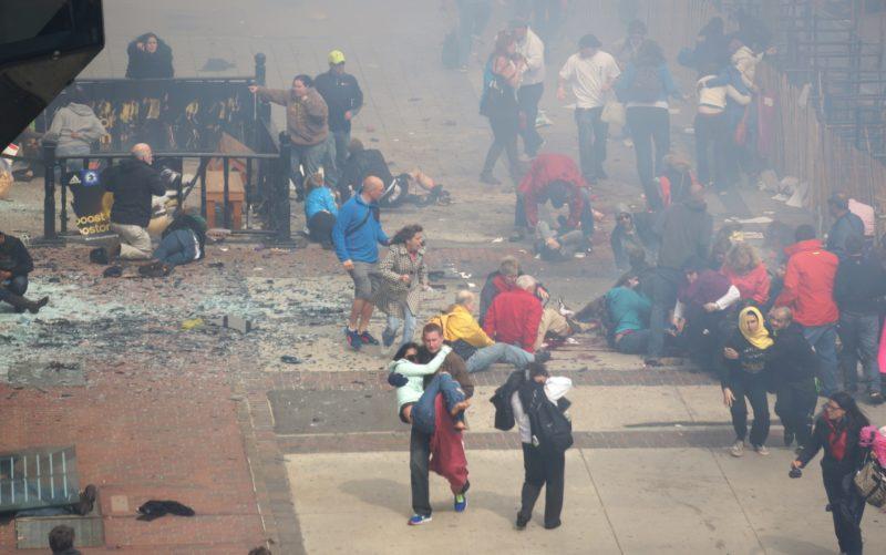Boston marathon robbantás