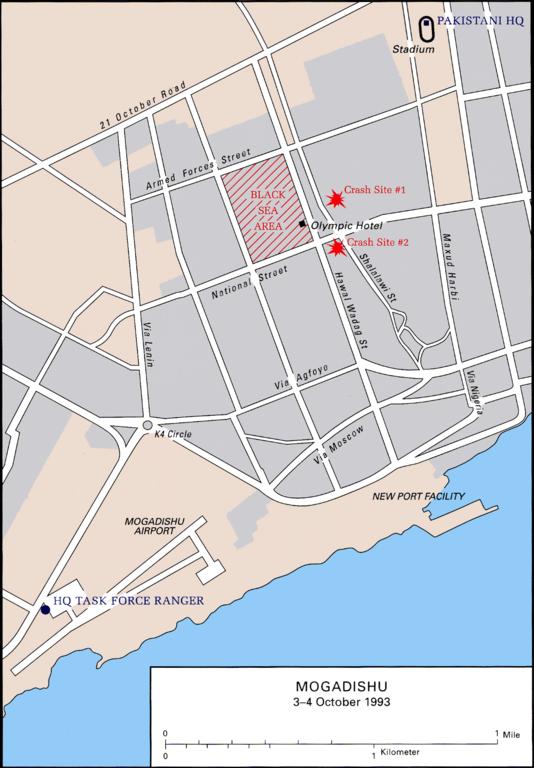 A Gótikus Kígyó hadművelet térképe