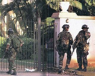 DELTA FORCE tagjai Panamában