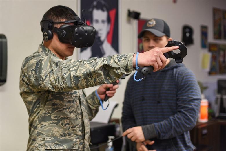 Virtuális valóság katonai kiképzésnél