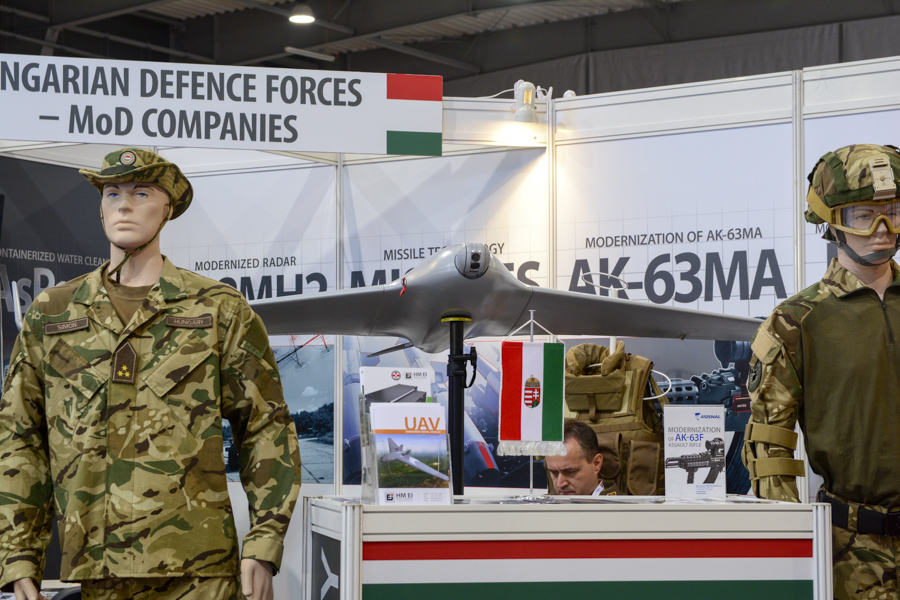 Magyarok a Future Forces kiállításon